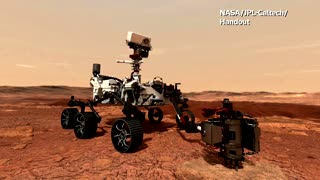 NASA's Perseverance rover lands safely on Mars