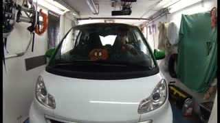 Smart 3 point turn like austin powers - Video