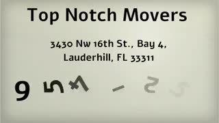 local moving company Ft. Lauderdale - Video