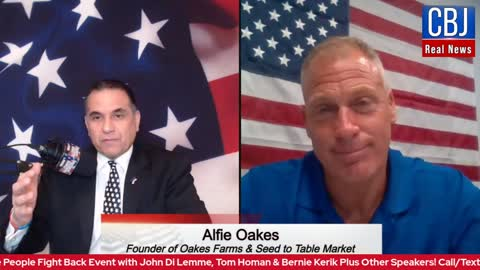 CBJ Real News Show (Part 153): Special Guest Alfie Oakes