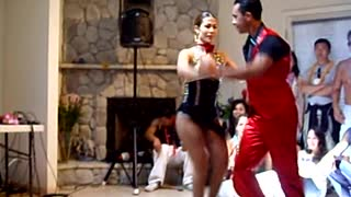 Hot Salsa Dance by Alex Da Silva  - Video