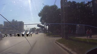 Traffic Accident In Kharkov - Video