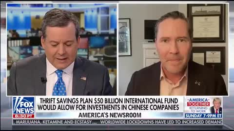 Michael Waltz warns about federal employees' pension fund