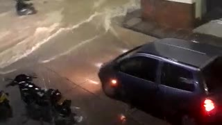 Grave emergencia en San Gil por lluvias - Video