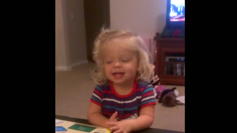 Little Girl Ruins Puzzle, Isn't Even Sorry About It