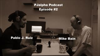 Podcast Episode #2 Comedian Mike Bain