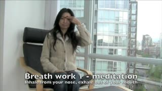Very Quick Meditation & Breathwork at work - Video