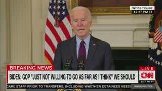 Biden Won't Cut Down $1,400 Stimulus Checks: 'That's What The American People Were Promised'