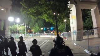 Police Under Attack In Portland at The Justice Center + Aftermath