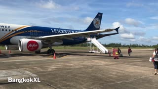 Leicester City AirAsia Plane In Thailand - Video