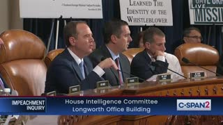 Nunes questions witness-Schiff interrupts Nunes