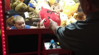 Kid Stuck in Arcade Game