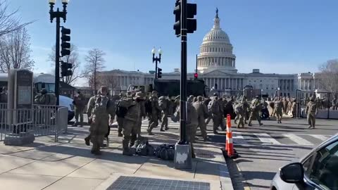A Inauguration You Say? 1000's Of More Troops Arrive At Capital!