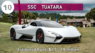 10 Most Expensive Cars In World