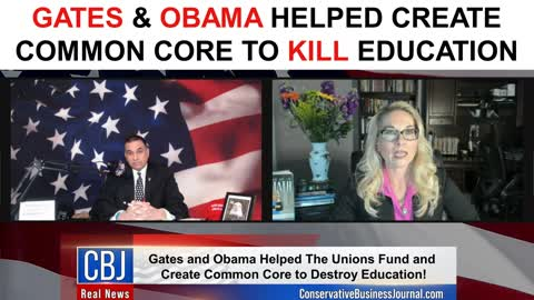 Gates & Obama Helped Create Common Core to KILL Education!