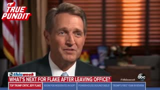 Sen. Jeff Flake On Possible 2020 Trump Challenge: 'I Don't Rule Anything Out' - Video