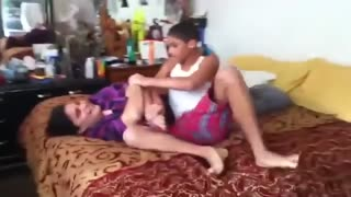Fight between Real Mother and Son  - Video