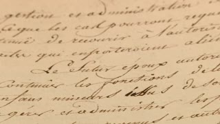 Napoleon's marriage contract with Empress Josephine to be auctioned - Video
