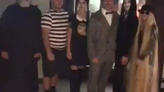 The Addams Family Group Costume