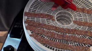 Home made beef jerky  - Video