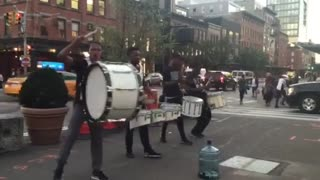 New York Street Drummers - Video