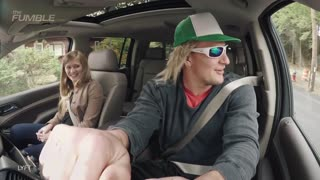 Rob Gronkowski Goes Undercover As Lyft Driver - Video