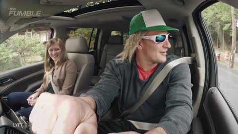 Rob Gronkowski Goes Undercover As Lyft Driver