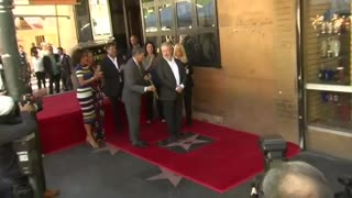 Ridley Scott gets star on Walk of Fame - Video
