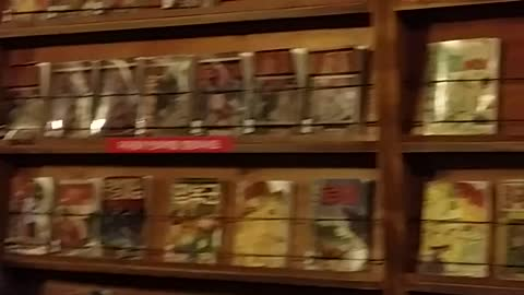 1950's Korean comic book store