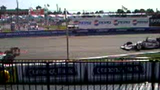 F1 USA - Formula 1 Warming lap - Video