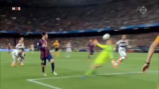 When Leo Messi say's goodbye to Boateng - Video