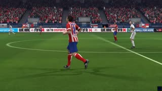 Atletico Madrid vs Real Madrid - Copa del Rey - Simulación FIFA EA - Video
