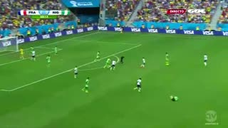 Highlight and Goals - France vs Nigieria Wolrdcup 2014 round 1/16 - Video