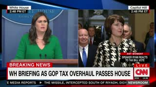 White House Says Trump's Businesses 'Could Benefit' From Republican Tax Plan - Video