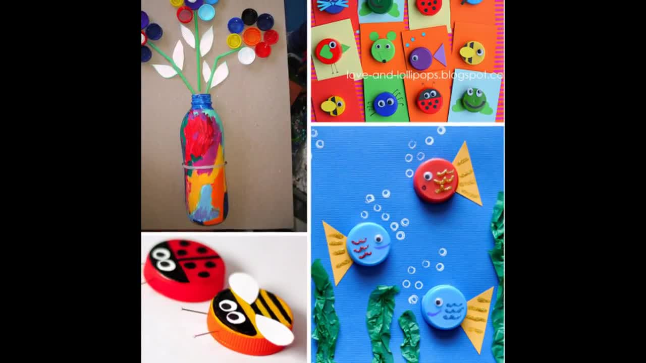 recycle diy plastic bottle caps ideas   rumble