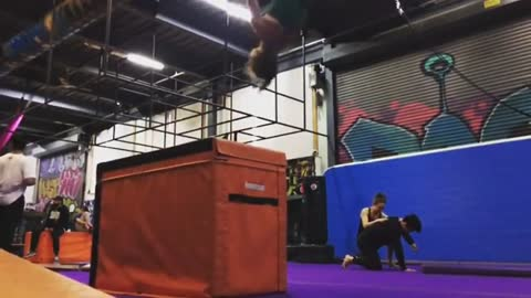 Woman Tries To Do Backflip, Fails Hilariously