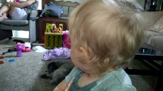 Baby Loves Video Selfies - Video