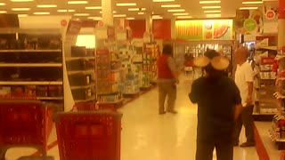 X-Rated Audio Prank at Target Store - Video