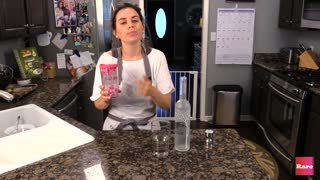 Elissa the Mom makes mommy drinks part 3 | Rare Life - Video