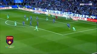 Luis Suarez great goal vs Alaves 1-0 - Video