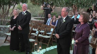 Bride and groom step aside to give parents the opportunity to renew their vows! - Video