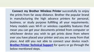 How do I Connect my Brother Wireless Printer ? - Video