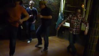 Epic drunk dancing competition