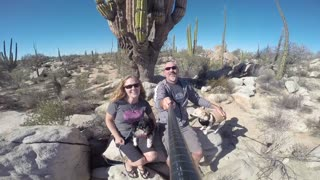Victoria Cabo Road Trip - GoPro Selfie Spin - Video