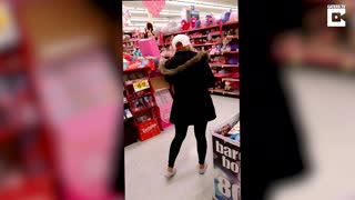 Expecting Mother Cries Hormonal Tears When She Finds Her Favorite Chocolate Bar At The Store - Video