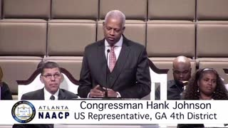 Hank Johnson compares Trump to Hitler