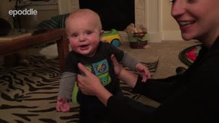 Adorable Baby Has Hilarious Dance Moves - Video