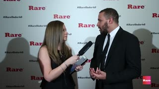 Wesley Lowery on the red carpet | Rare Under 40 Awards - Video