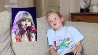 Kids answer questions about Taylor Swift - Video