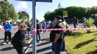 Heavy Police and Security outised Brackenfell High School